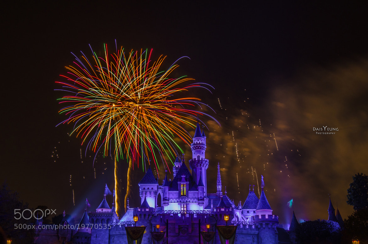 Photograph Disneyland Firework Show - 4730 by Daisy Yeung on 500px