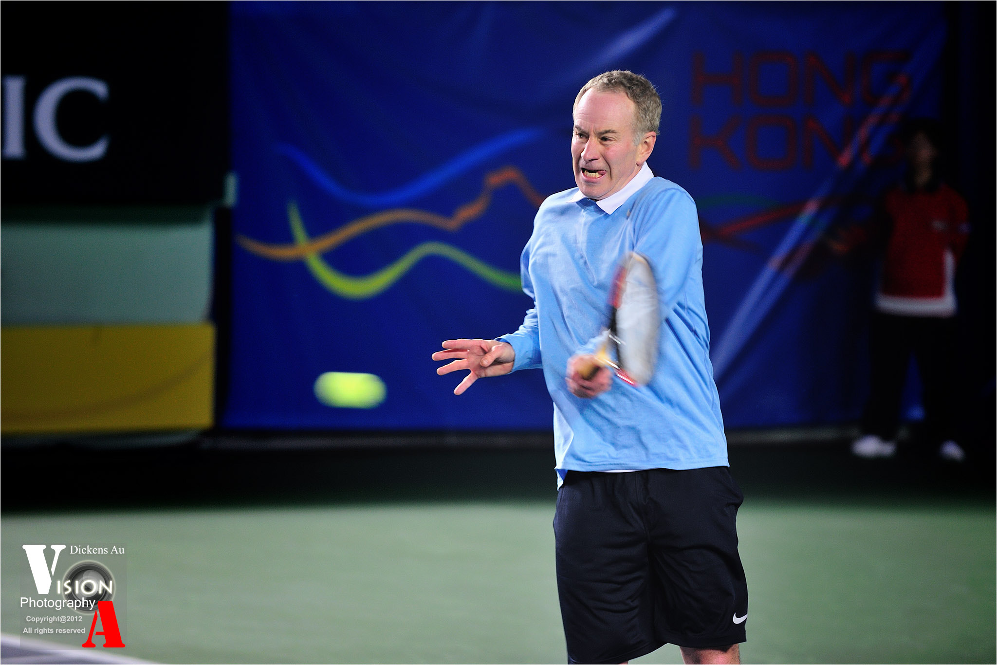 Photograph John McEnroe 01 by Dickens Au on 500px