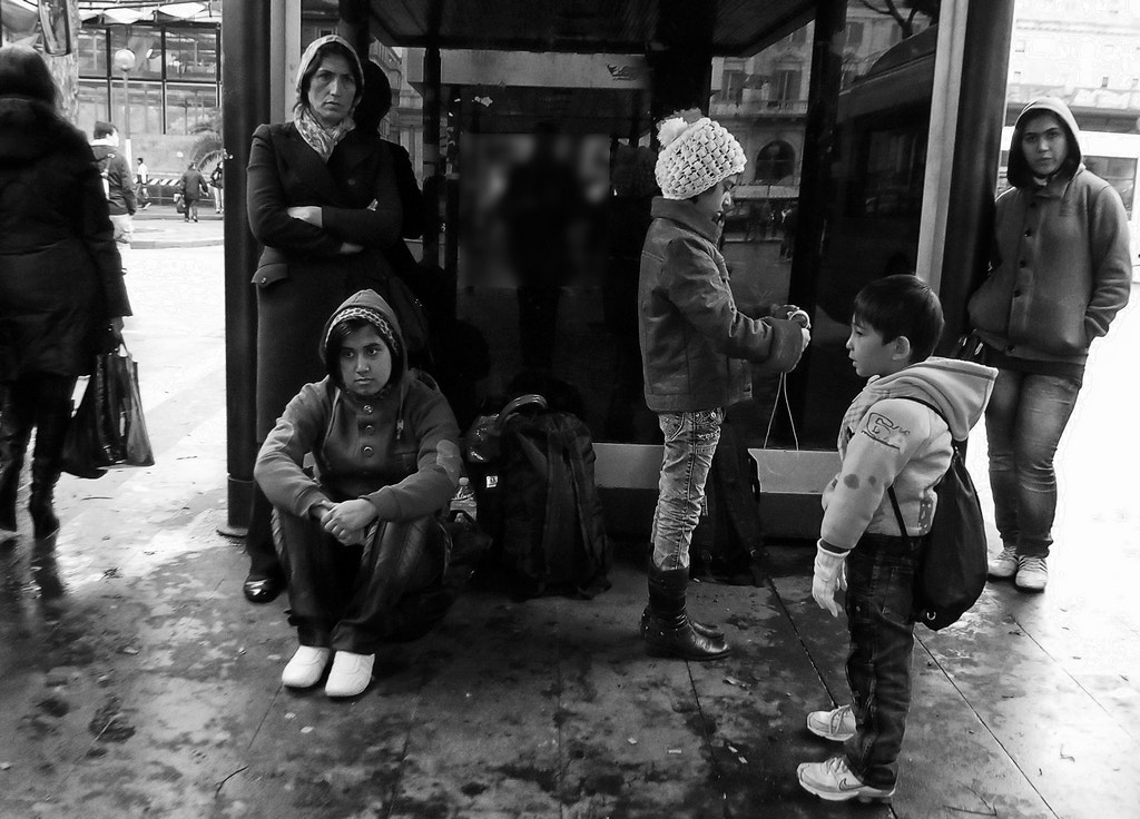 Photograph At the bus stop by Giuseppe Grimaldi on 500px