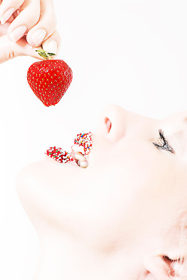 Photograph strawberry by Michael Hesseler on 500px