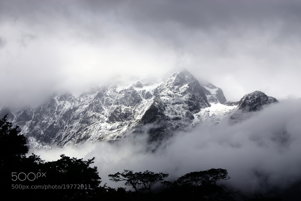 Photograph Mountains of Fiordland by B D on 500px