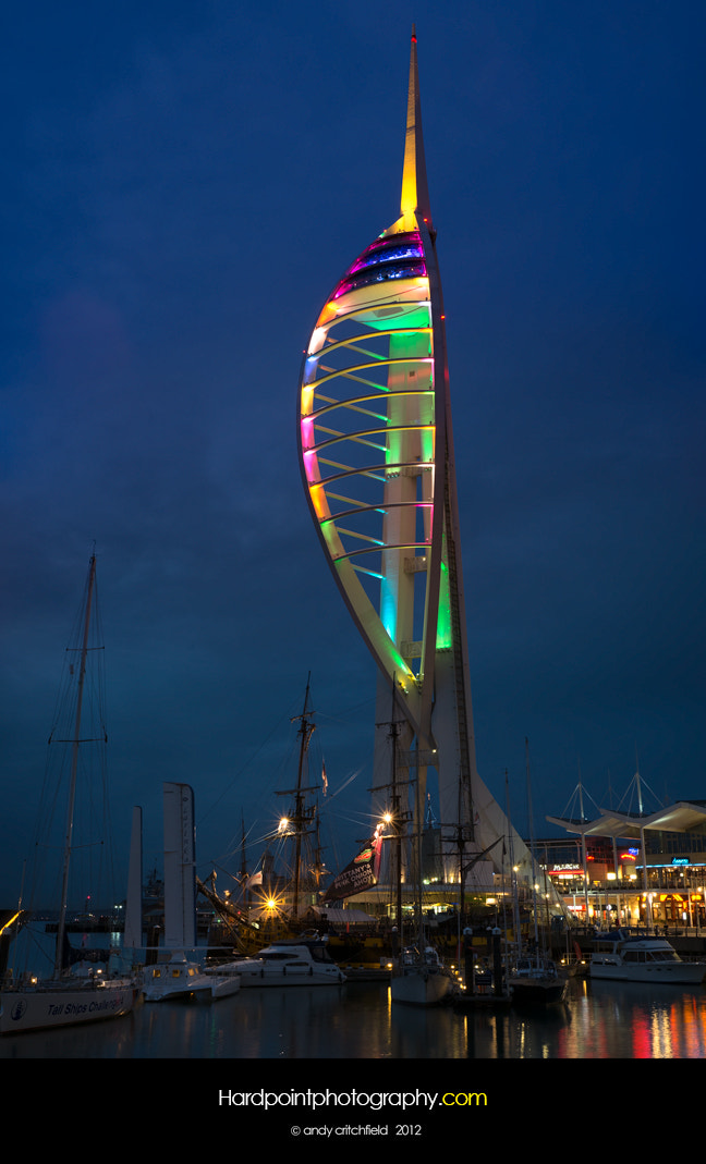 Photograph Spinnaker Tower by Hardpoint Photography on 500px