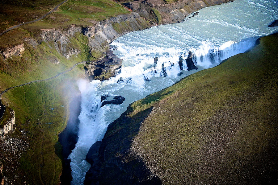 Photograph Flying over Gullfoss by Christian Luijten on 500px
