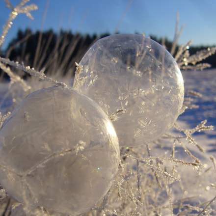 soap bubbles at -20, Panasonic DMC-LS2