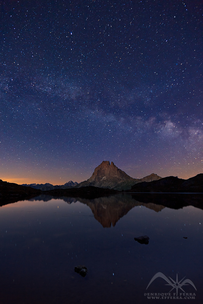Photograph Under the Milky Way by Enrique F. Ferrá on 500px