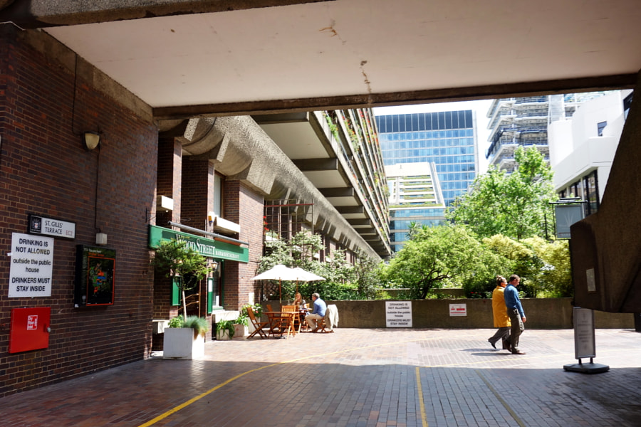 Barbican, City of London by Sandra on 500px.com