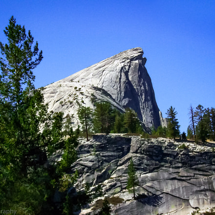 Half Dome from the, Sony DSC-S500