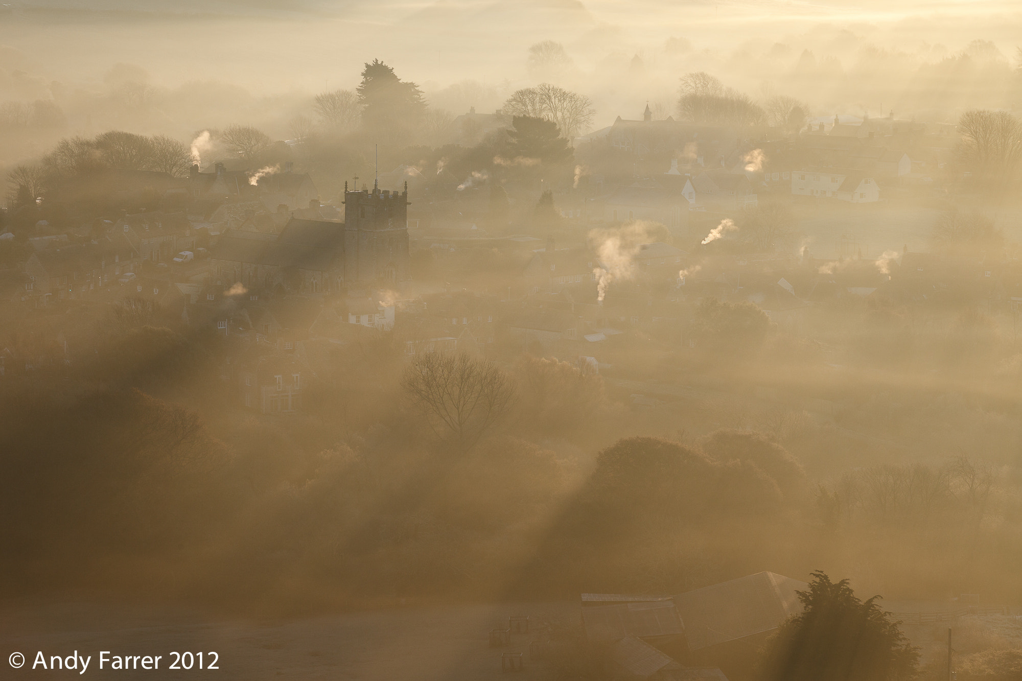 Photograph Corfe Castle Village by Andy Farrer on 500px