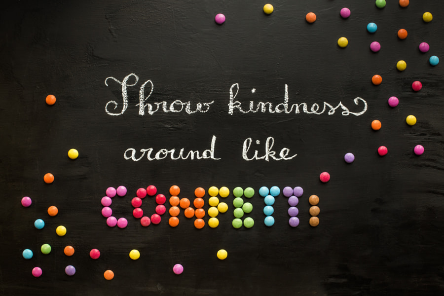 Throw kindness around... by Nathalie Le Bris on 500px.com