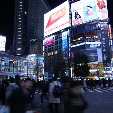 shibuya, Canon EOS 8000D, Canon EF-S 17-55mm f/2.8 IS USM