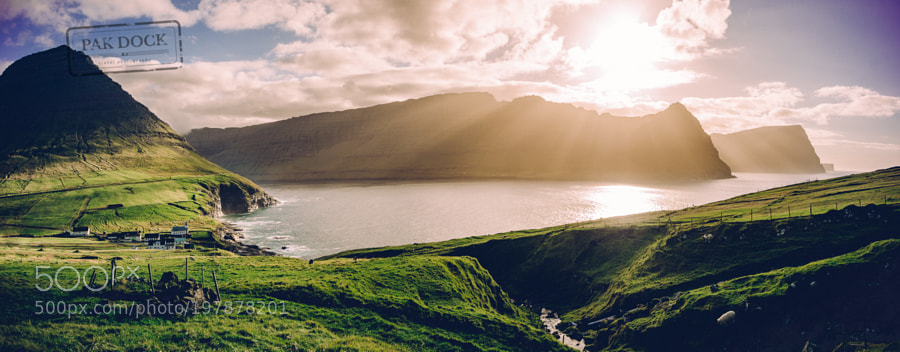Vidareidi Sunset - Faroe Islands