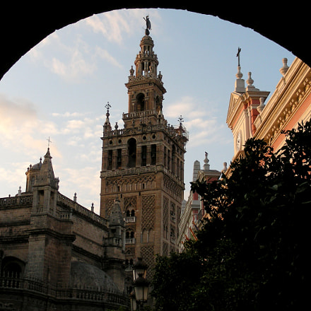 Seville The Cathedral of, Nikon COOLPIX S10