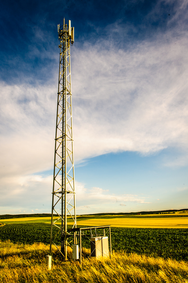 Photograph Cell Tower by Ernst Gamauf on 500px