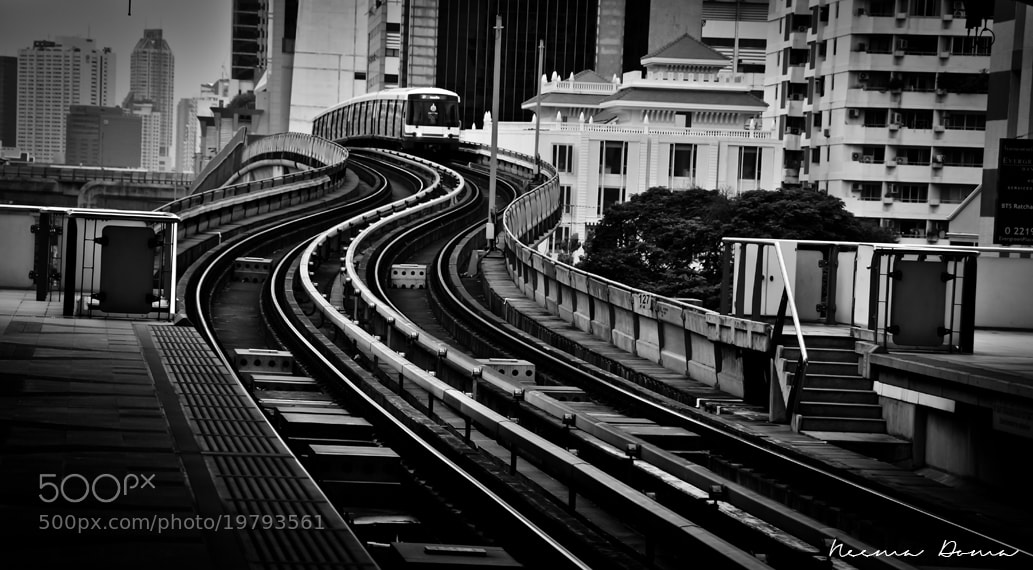Photograph { sky train } by Neema Doma on 500px