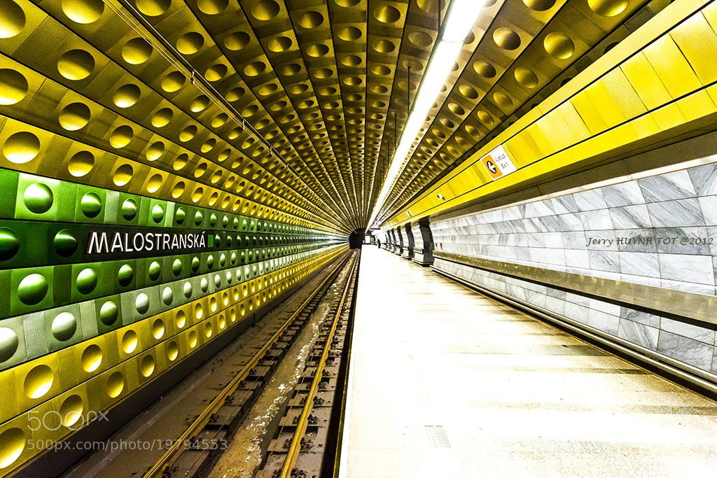 Photograph Prague Metro station - Malostranská by Jerry Huynh tot on 500px
