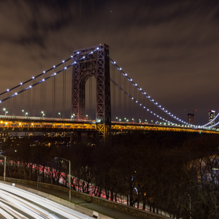 The George Washington Bridge, Canon EOS 60D, Tamron AF 19-35mm f/3.5-4.5