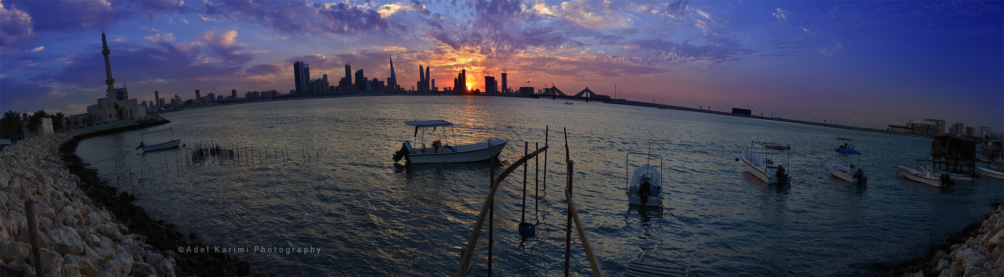 Photograph Sunset Panorama by Adel Karimi on 500px