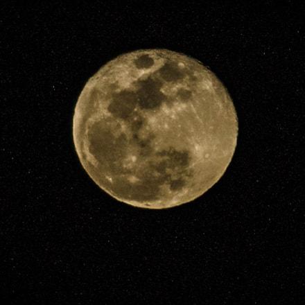 Tonight's moon in OKC