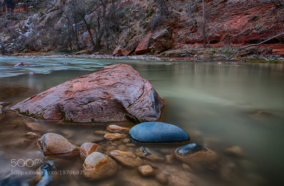 Photograph A stream in Zion Canyon by Kal Doon on 500px