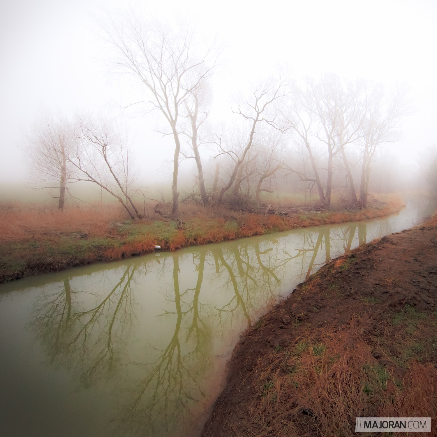 Photograph A Foggy Reflection by Ray Majoran on 500px