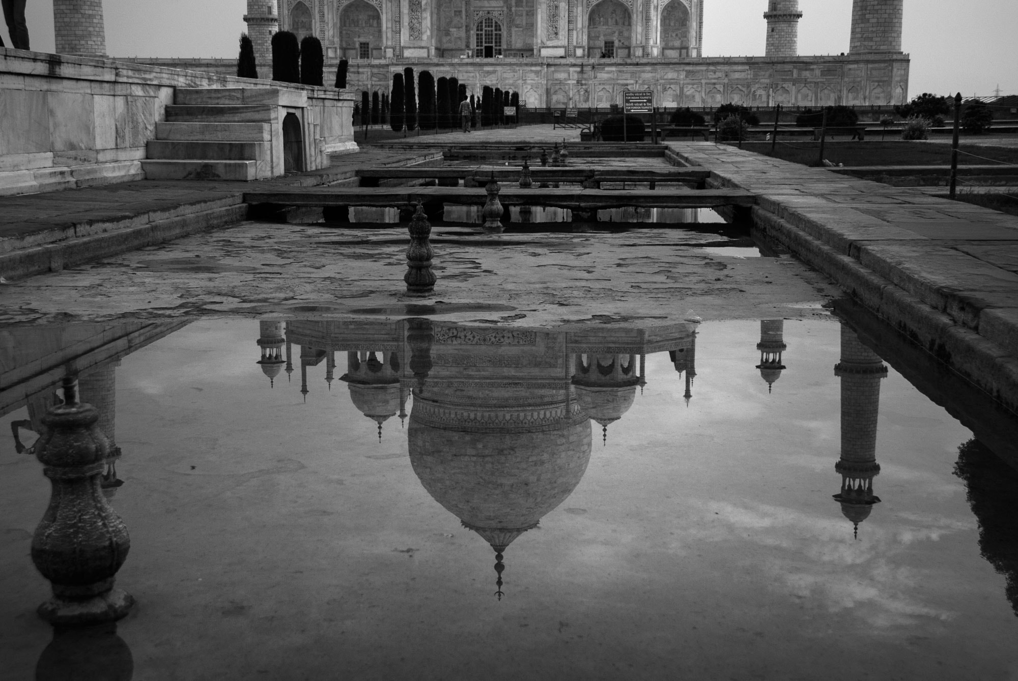 Photograph Reflections of the Taj by Gareth Dennison on 500px