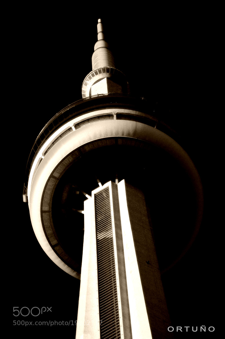 Photograph DARK CN TOWER by OLIVIA FUENTES ORTUÑO on 500px