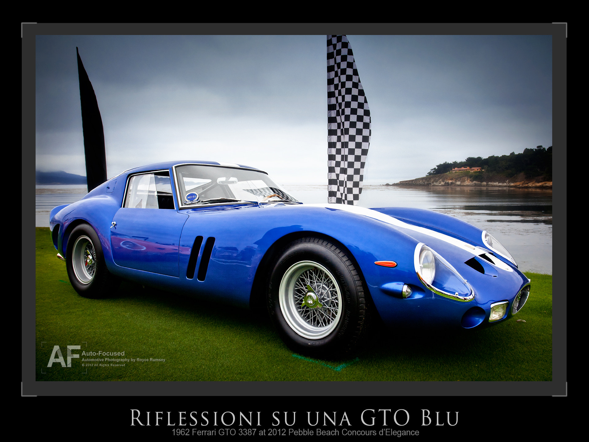 Photograph Reflections on a Blue GTO by Royce Rumsey on 500px