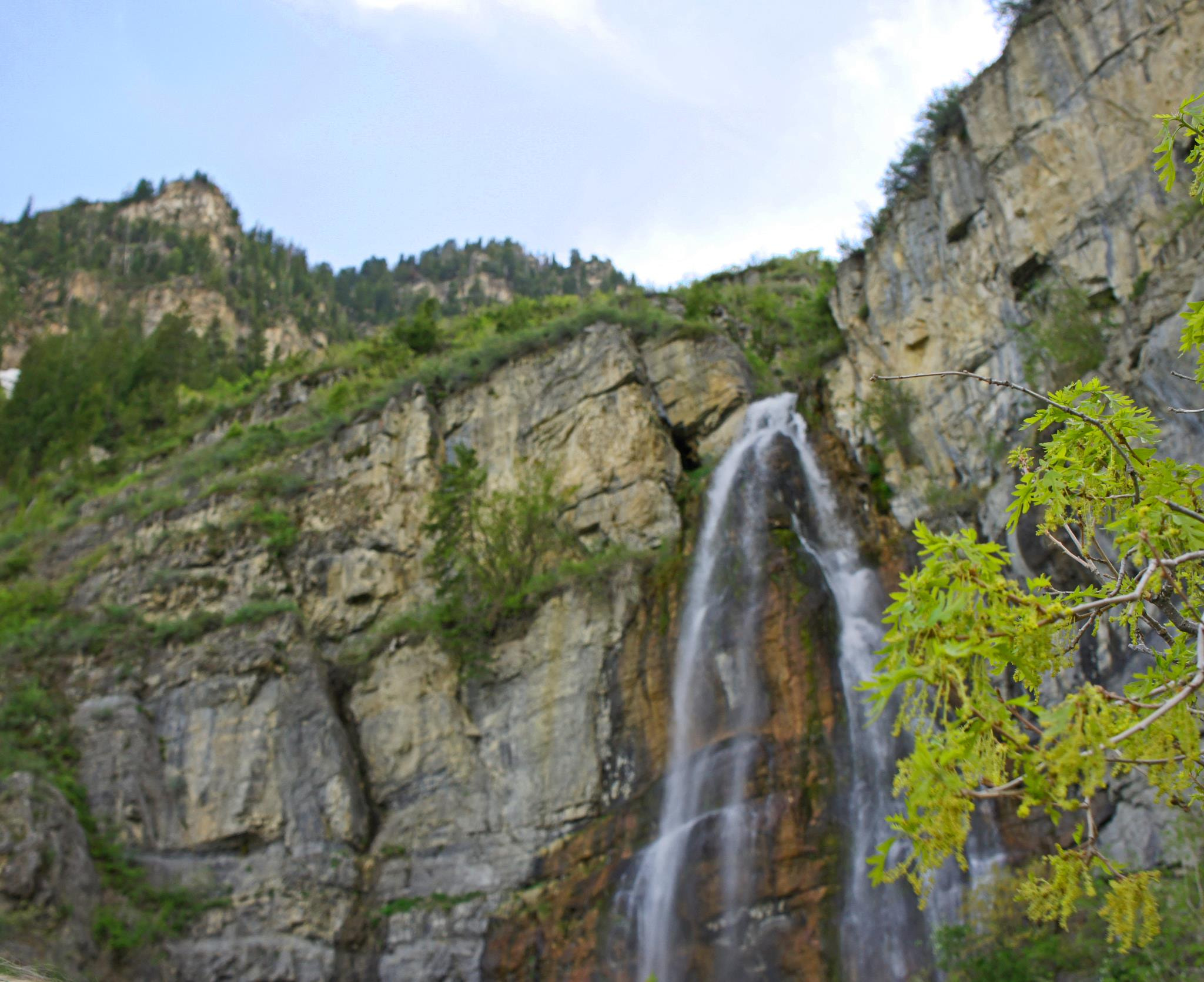 Photograph Bridal Veil Falls by Brolin  Roney on 500px