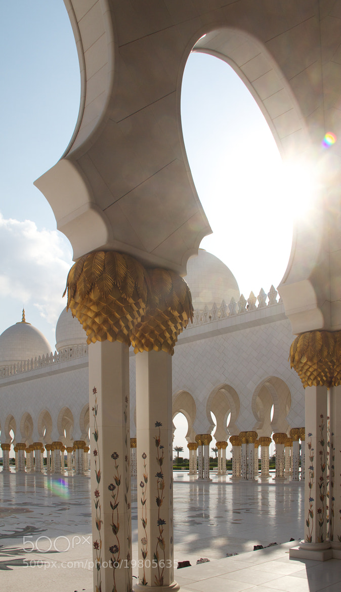 Photograph Abu Dhabi mosque by Franck  on 500px