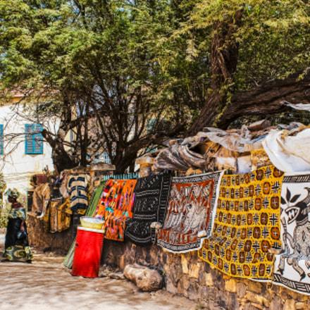 African batiks shop