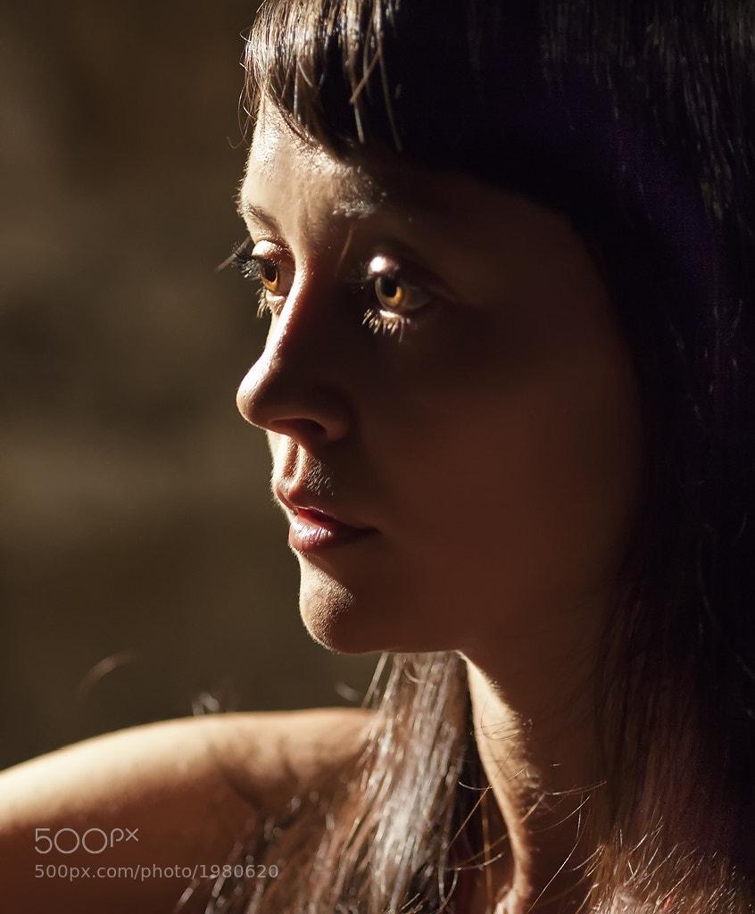 Photograph She and light. by Olga Shiropaeva on 500px