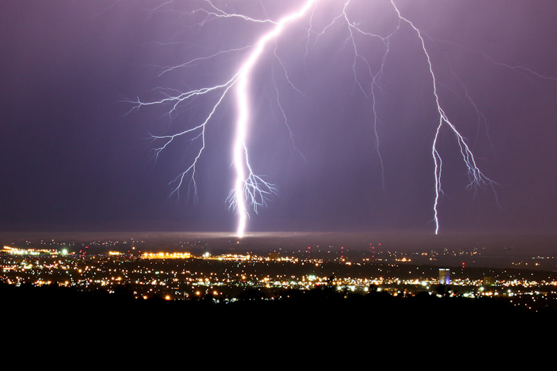 Photograph Lightning over Albuquerque by Ryan Painter on 500px