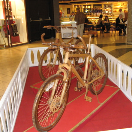 Wooden Bike, Canon POWERSHOT A710 IS