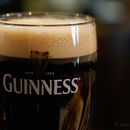 A pint of Guinness., Sony ILCE-5100, Sony DT 50mm F1.8 SAM (SAL50F18)