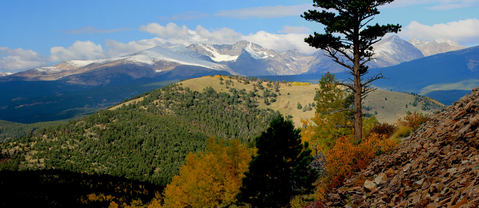 Photograph Continental Divide from Sugarloaf Mountain by Parker Jackson on 500px