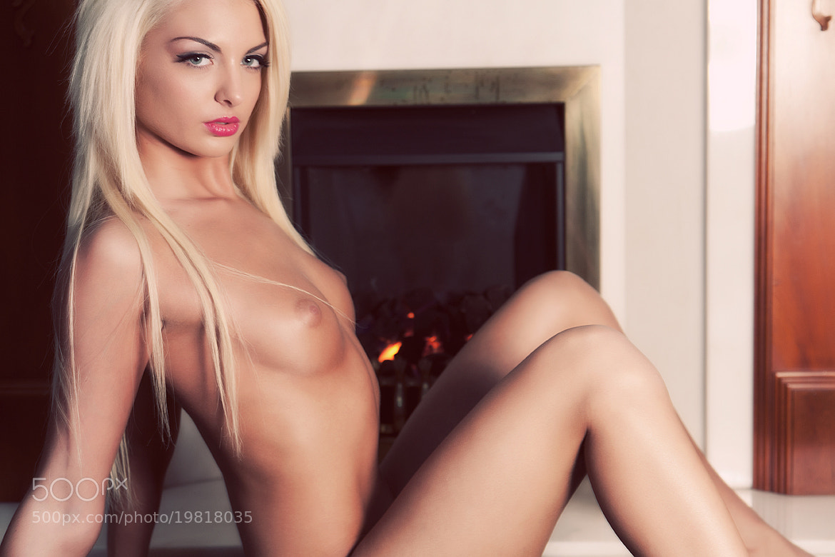 Photograph Jess warming by the fire by Donald Gibbs on 500px