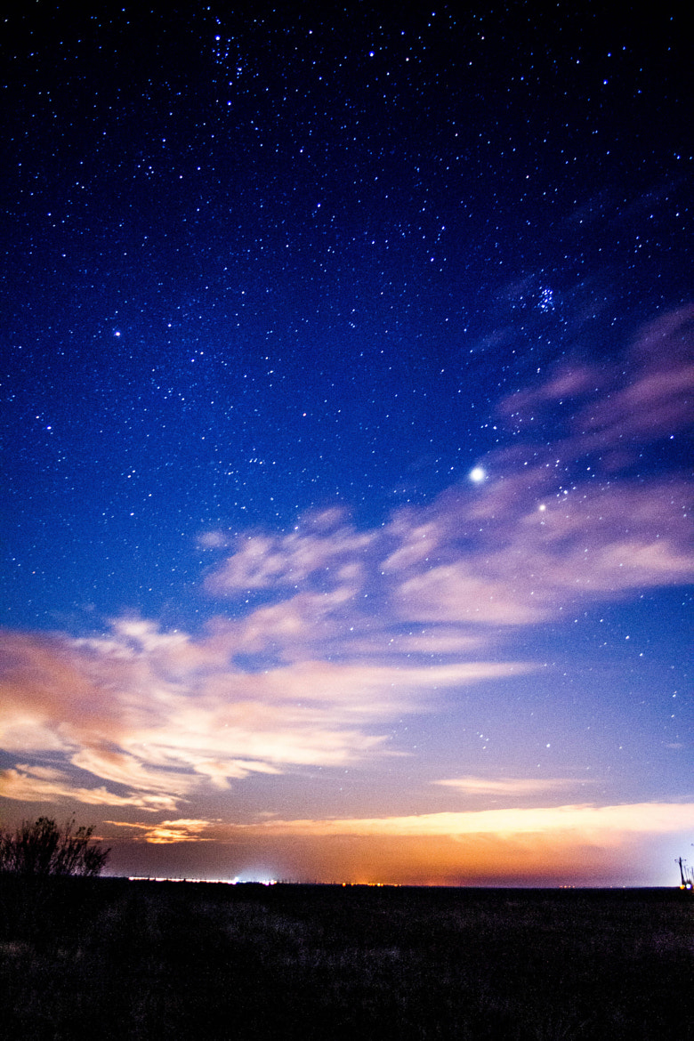 Photograph The light of mon and Jupiter by Eduard Pantazi on 500px
