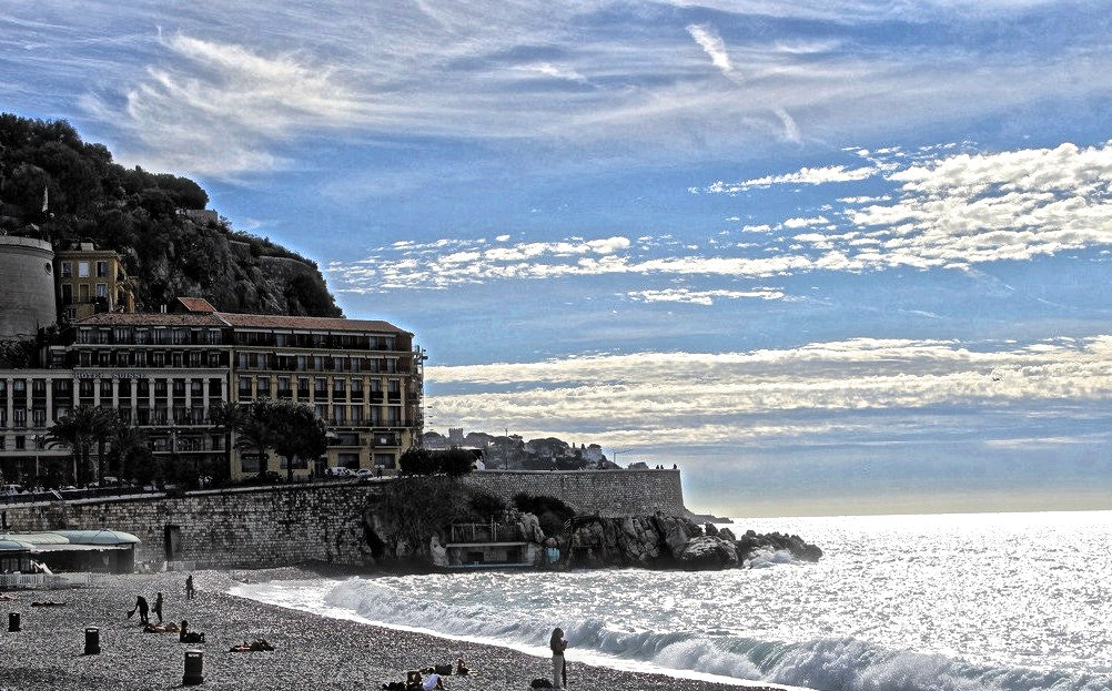 Photograph Beachfront, Nice by Diane  Lee on 500px