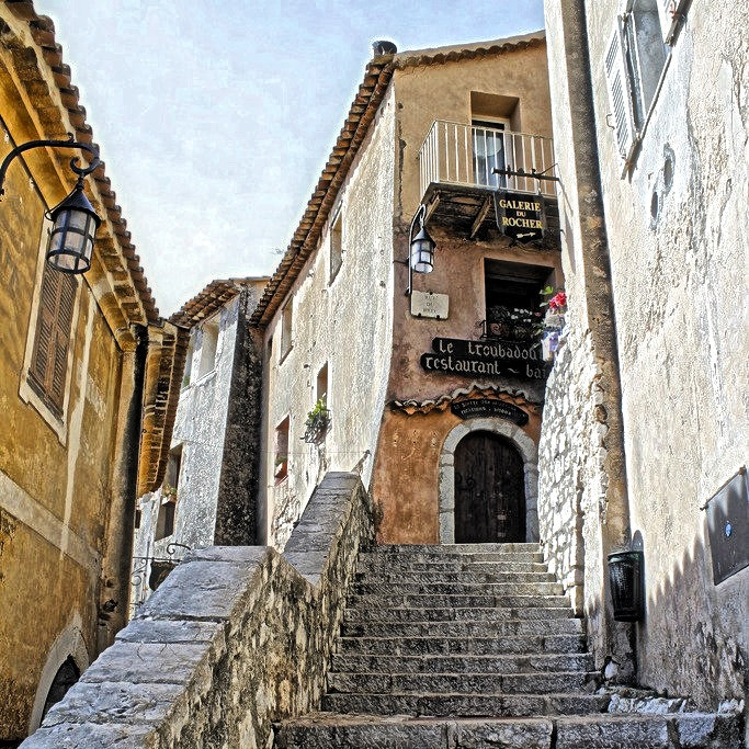 Photograph The buildings of Eze by Diane  Lee on 500px