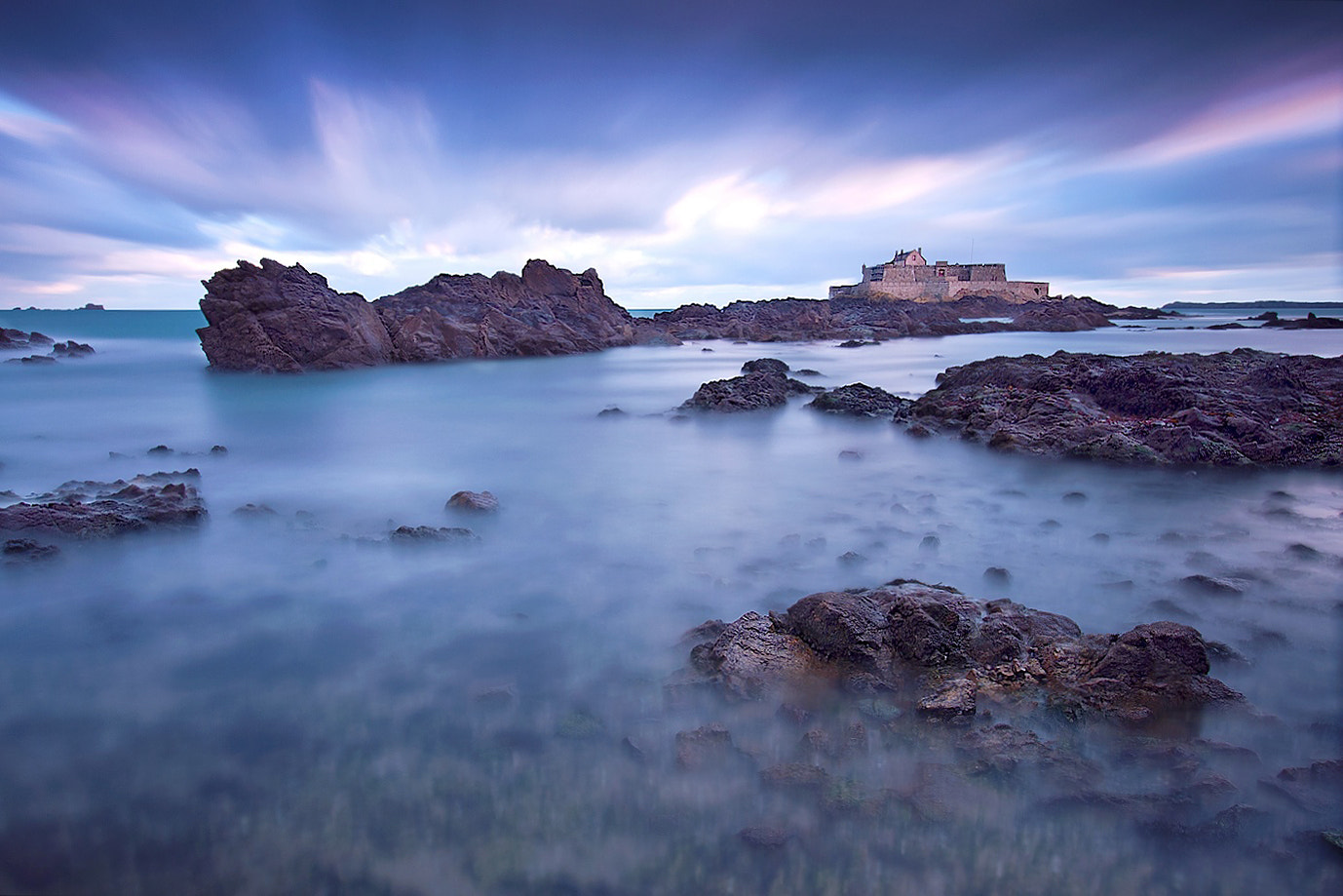 Photograph Saint Malo in Blue Light by Lubomir Letko on 500px