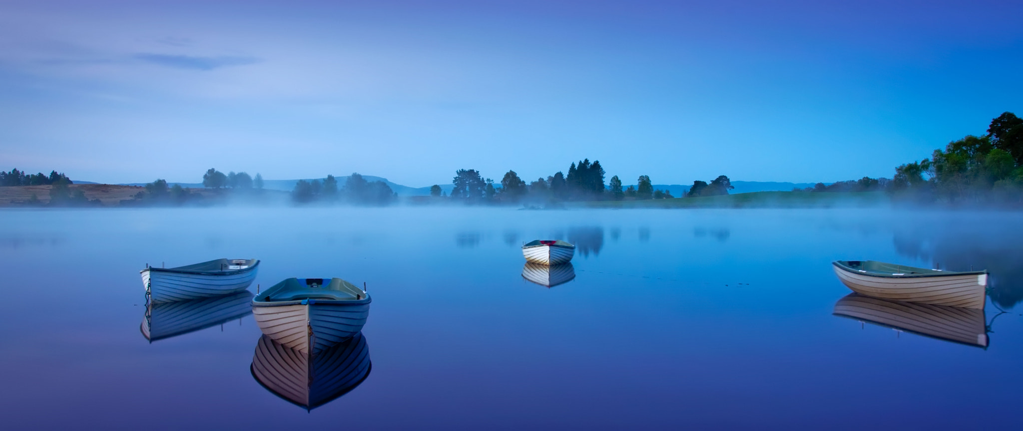 Photograph Moonlight blue... by David Mould on 500px