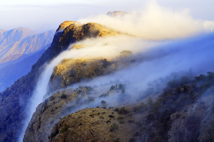 Photograph }{  Fog Falls  }{ by almalki abdullrahman on 500px