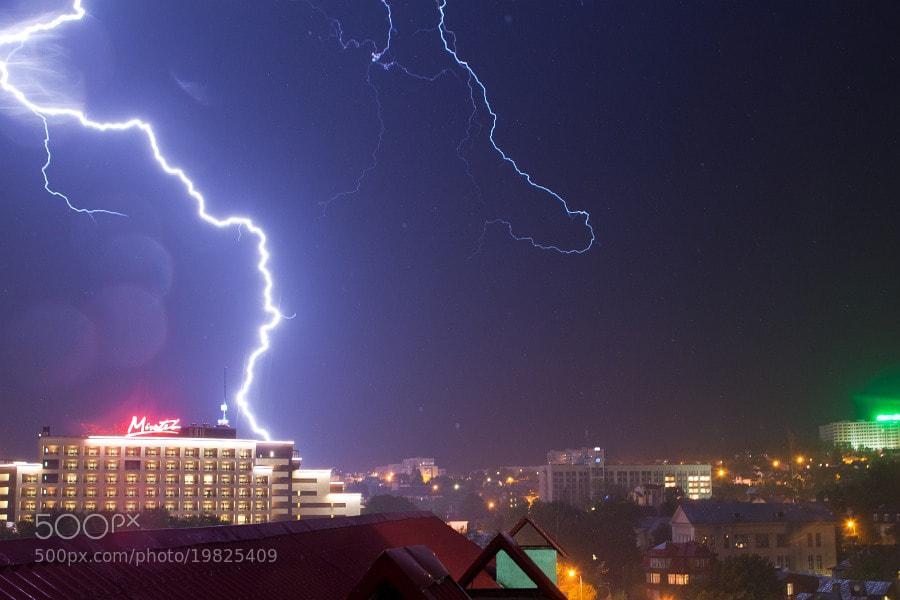 Photograph Lightning by Valeriy Weirdo on 500px