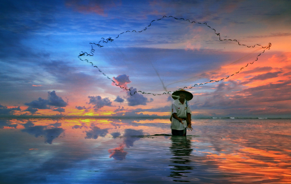 Photograph The Flying Net by Alit Apriyana on 500px