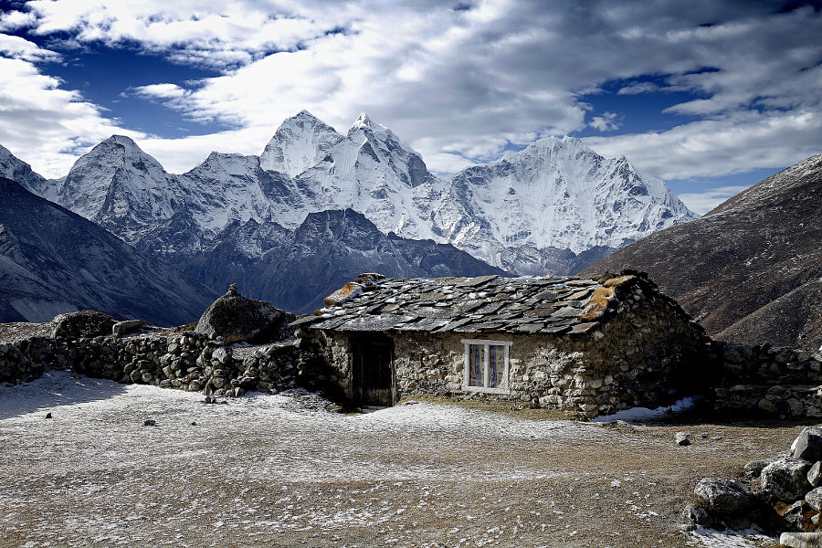 on the Everest trek 3 by Anna Carter on 500px.com