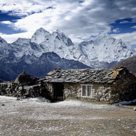 on the Everest trek 3 by anna carter (annab)) on 500px.com