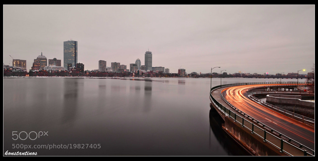 Photograph CLOUDY BOSTON. by konstantinos metallinos on 500px