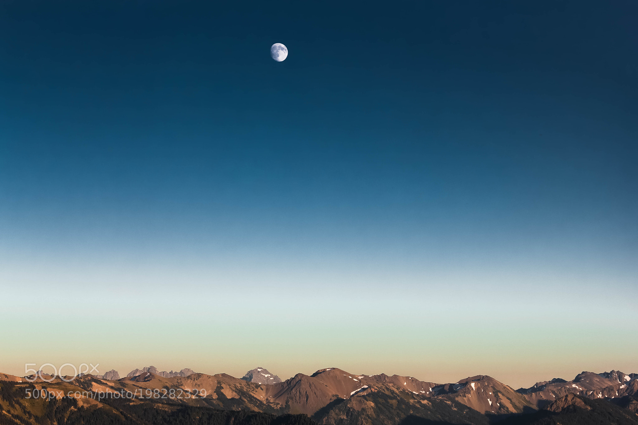 Moonscape – Olympic Peninsula, USA