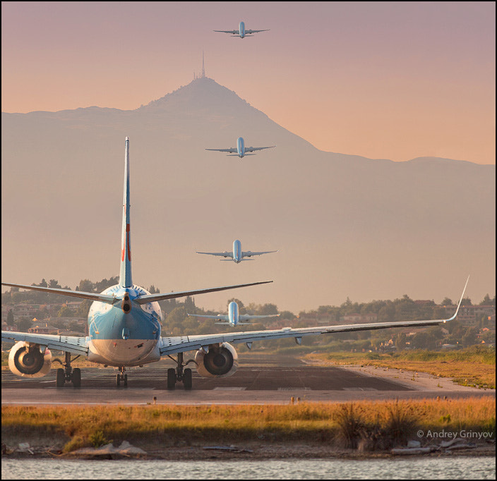 Photograph Takeoff.. by Andrey Grinyov on 500px