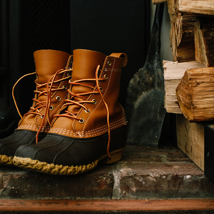 Bean Boots v2, Canon EOS 80D, Canon EF 35mm f/1.4L